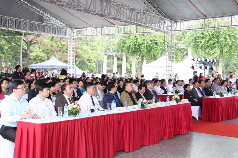 Các đại biểu tham dự Ngày Sách Việt nam lần thứ 4.