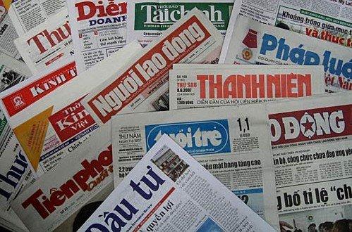 Vui buồn với báo chí Việt Nam năm 2016