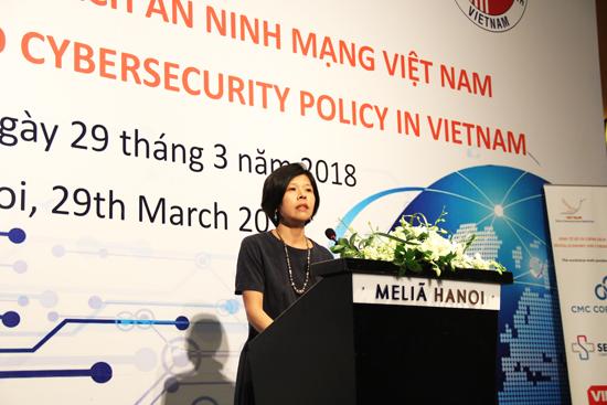 """20180329-pg3-Daisu.jpg Hội thảo """"Kinh tế số và chính sách an ninh mạng Việt Nam"""""""