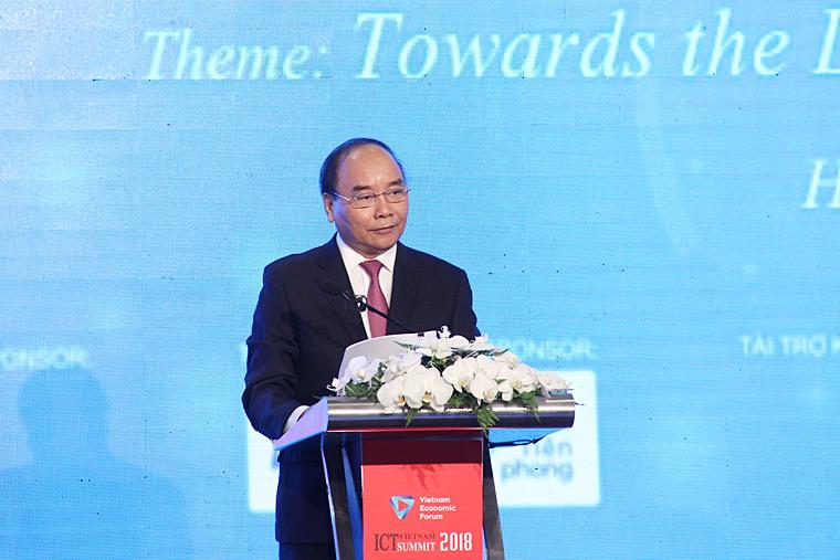 Khai mạc Diễn đàn Cấp cao CNTT-TT Việt Nam 2018