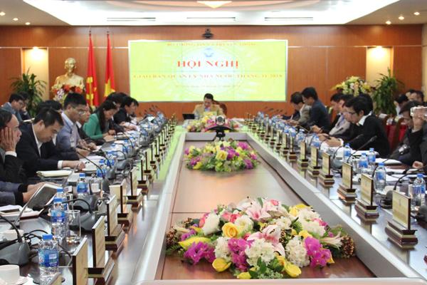 Bộ TT&TT tổ chức Hội nghị giao ban quản lý Nhà nước tháng 11 năm 2018