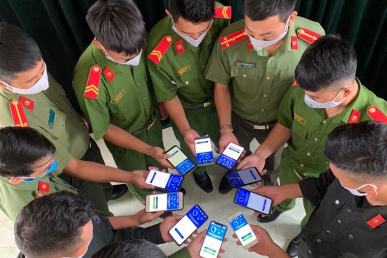 Số lượt tải ứng dụng Bluezone đạt 15,7 triệu