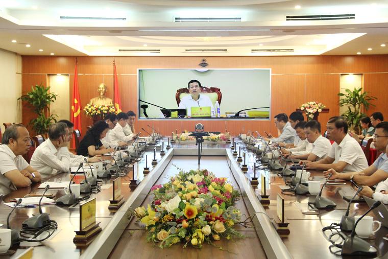 Bộ TT&TT giao ban trực tuyến công tác quản lý nhà nước Quý III/2020